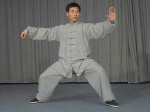 Master Chen demonstrates Single-Whip