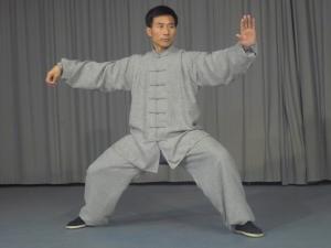 Master Chen demonstrates Single-Whip