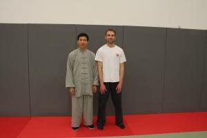 Happy Days! Sam and Master Chen Bing