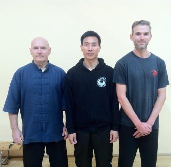 Jarek, Chen Bing and Sam