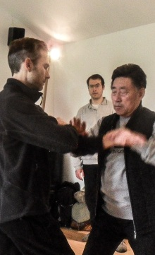 Valuable hands-on training with GM Chen Xiao Wang